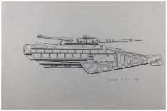 Centurion Vehicle Briefing - Forger Original Art