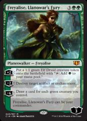 Freyalise, Llanowar's Fury (MR)
