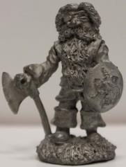 Dwarf w/Axe & Shield