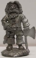 Dwarf w/Axe & Sword