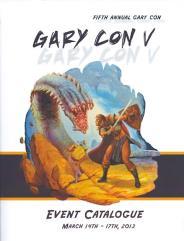 Gary Con V - Event Catalogue