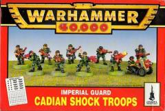 Cadian Shock Troops (1995 Edition)