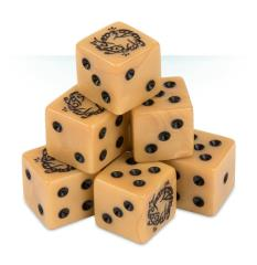 Dice Set - The One Ring (8)