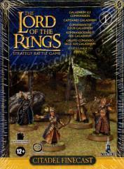 Galadhrim Elf Commanders (Finecast)