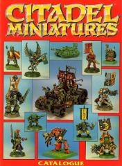 Citadel Miniatures Catalog 1991 Section #2
