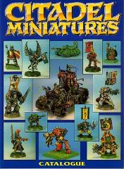 Citadel Miniatures Catalog 1991 Section #1