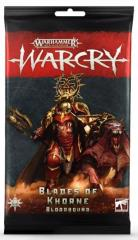 Warcry Card Pack - Blades of Khorne Bloodbound