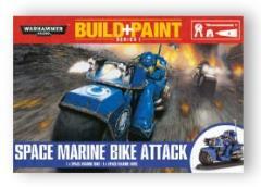 Build+Paint Paint Set - Space Marine Bike Attack