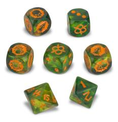 Nurgle Dice Set (7)