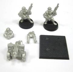 Tallarn Heavy Bolter Team #3