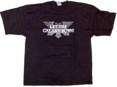 Let the Galaxy Burn/Eye of Terror T-Shirt (XXL)