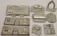 Metal 40K Vehicle Bit Collection