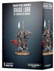 Chaos Lord in Terminator Armor