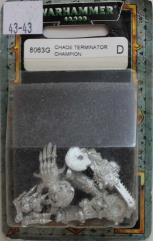 Chaos Terminator Champion (2000 Edition) (Variant 1)