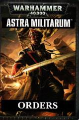 Orders Cards - Astra Militarum