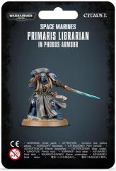 Primaris Librarian in Phobos Armor