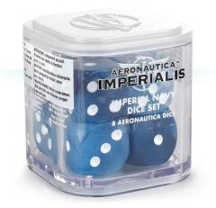 Imperial Navy Dice Set (8)