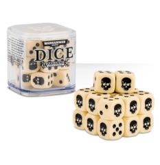 D6 12mm Dice Cube - White (20)