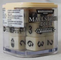 Maelstrom Dice - Ivory (20)