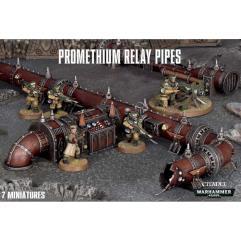 Promethium Relay Pipes