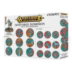 Shattered Dominion - 25 & 32mm Round Bases (70)