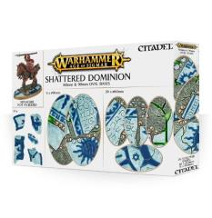 Shattered Dominion - 60 & 90mm Oval Bases (26)
