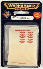 Imperial Guard Decals