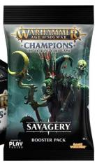 Champions - Savagery Booster Display