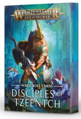 Warscroll Cards - Disciples of Tzeentch (2020 Edition)