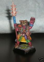Amber Battle Wizard