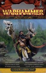 Amber Battle Wizard (Finecast)