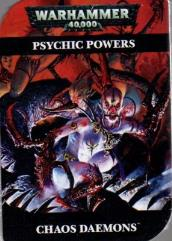 Psychic Power Cards - Chaos Daemons