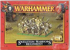 Skeleton Warriors Regiment (1999 Edition)