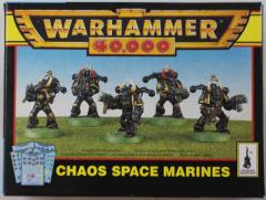 Chaos Space Marines (1996 Edition)