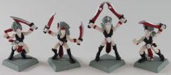 Dark Elf Cheerleader Collection #1