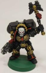 Blood Angels Assault Chaplain #1