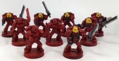 Blood Angel Assault Squad on Foot #2