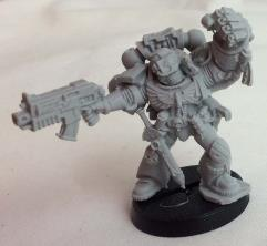 Blood Angels Captain (2012 Games Day Exclusive) #1