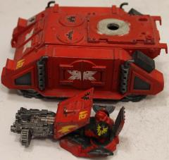 Blood Angels Razorback #1