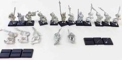 Bretonnian Halberdiers Collection #1