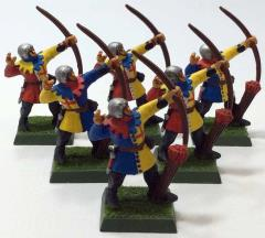 Bretonnian Bowmen Collection #24