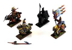 Bretonnian Grail Knights Collection #1
