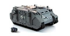 Black Templar Rhino #3