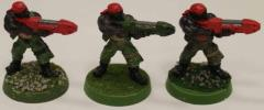 Catachan Jungle Fighters w/Plasma Guns Collection #1