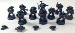 Dark Angels Tactical Squad #12