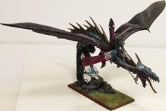 Dark Elf Lord on Dragon #1