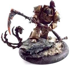 Death Guard Terminator w/Scythe #1