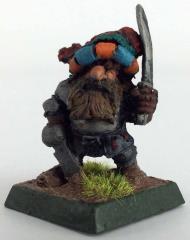 Dwarf Adventurer we/Sword & Dagger #1