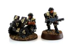 Cadian Heavy Bolter Collection #2
