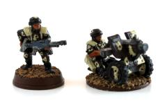 Cadian Heavy Bolter Collection #9